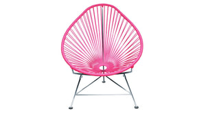 Baby Acapulco Chair, Hot Pink