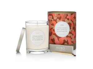 Camo Candle, Himalayan Red Spruce