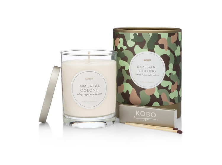 Camo Candle, Immortal Oolong