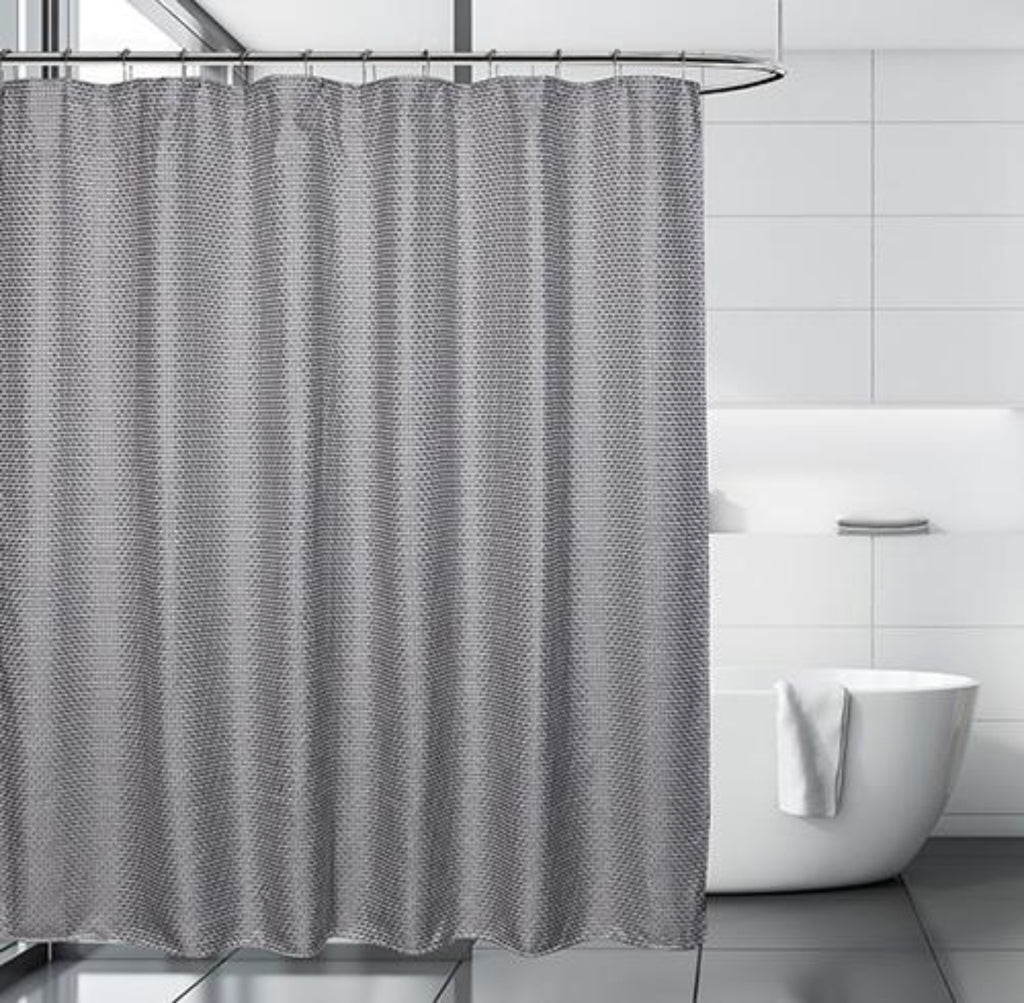 Cardiff Shower Curtain, Grey