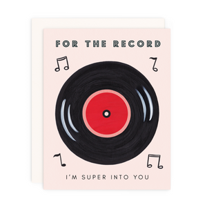 For the Record Greeting Card