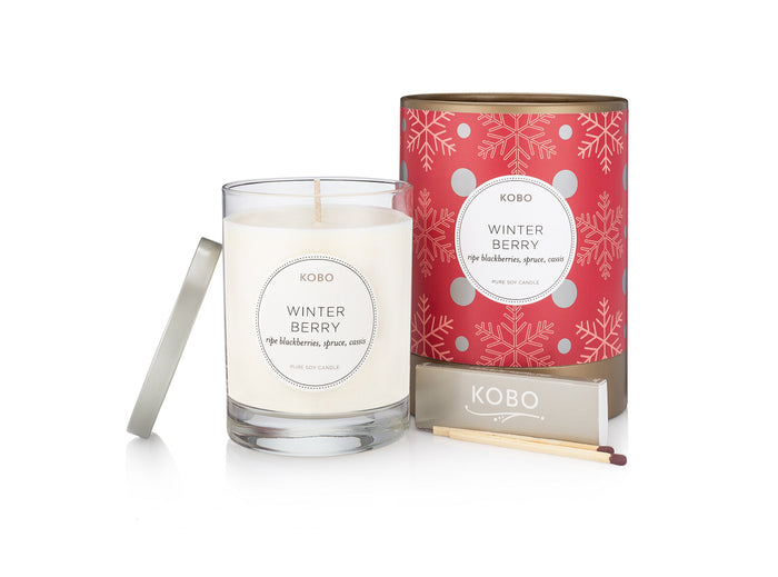 Winter Berry Candle
