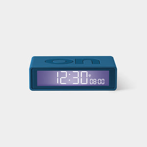 FLIP + Alarm Clock Blue