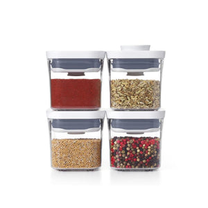 OXO POP 2.0 4 Piece Mini Container Set