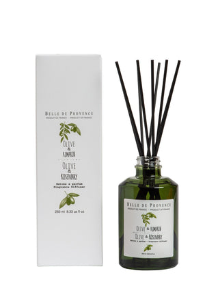 Belle de Provence Fragrance Diffuser, Olive & Rosemary