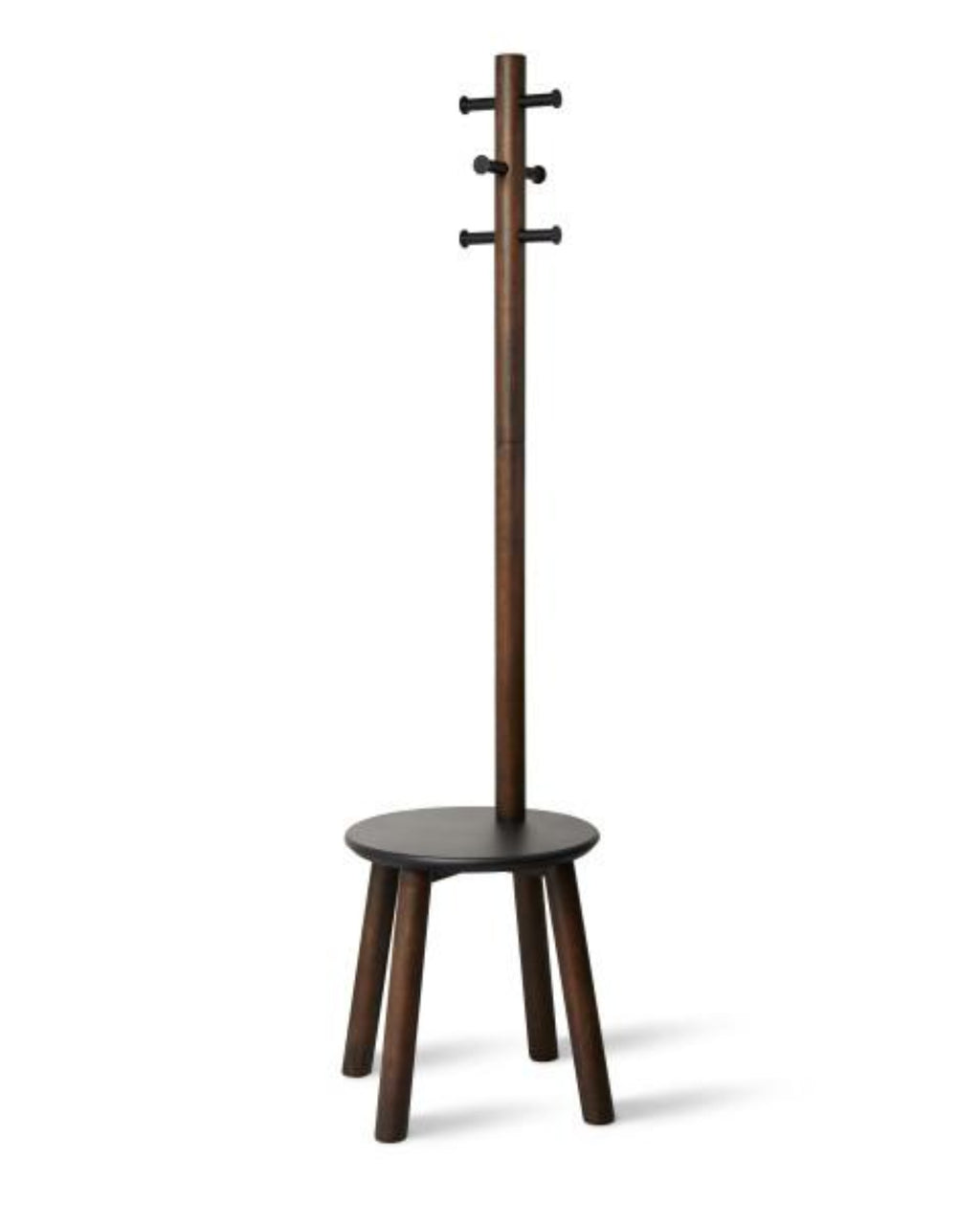 Pillar Stool & Coatrack