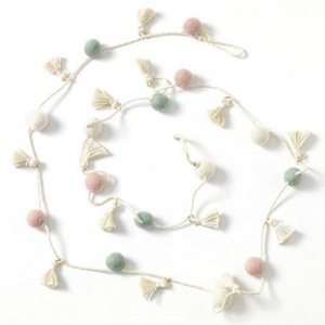 Candy Garland with Tassels