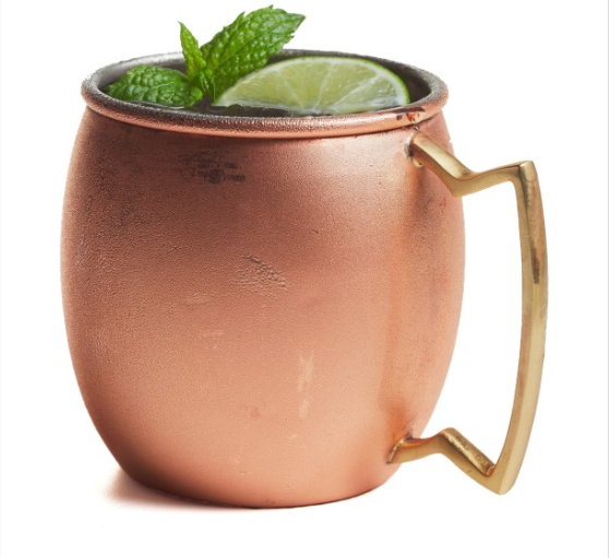 Moscow Mule Copper and Stainless Steel Mug
