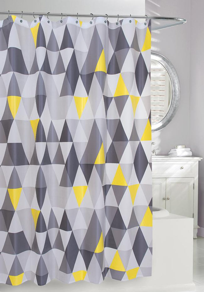 Shower Curtain, Triangles