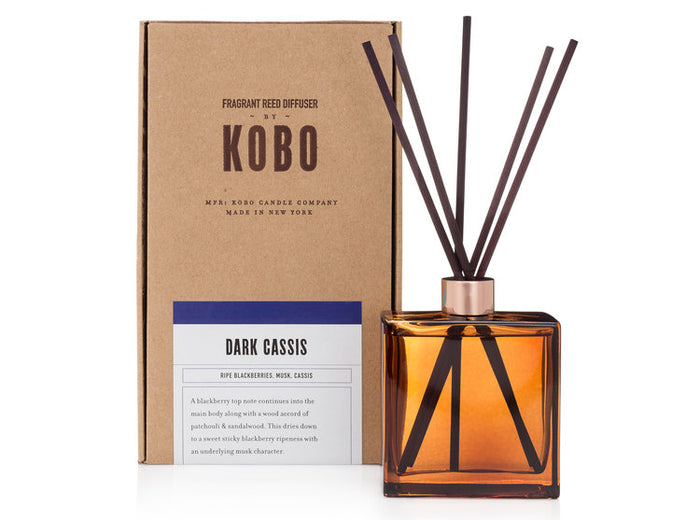 Woodblock Diffuser, Dark Casis