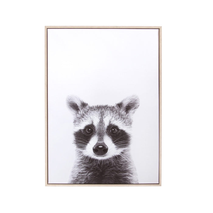 Raccoon Wall Canvas