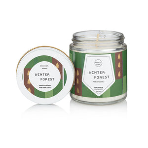 Winter Forest Candle