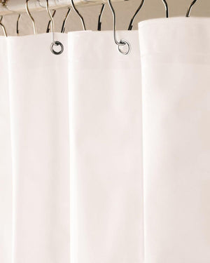 EVA Shower Curtain Liner, White