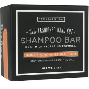 Beekman Shampoo Bar, Honey & Orange Blossom