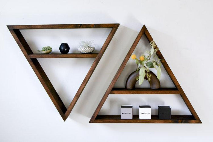Horizon Geometric Shelf