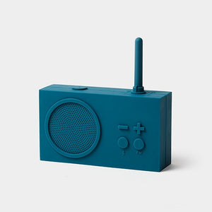 TYKHO 3 Bluetooth & FM Radio Speaker Blue