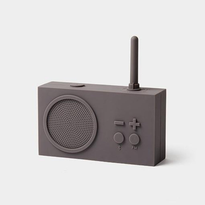 TYKHO 3 Bluetooth & FM Radio Speaker Grey