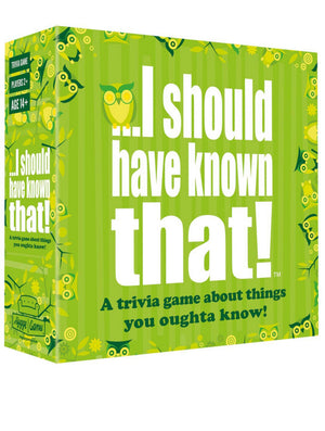 I Should Have Known That! Trivia Game