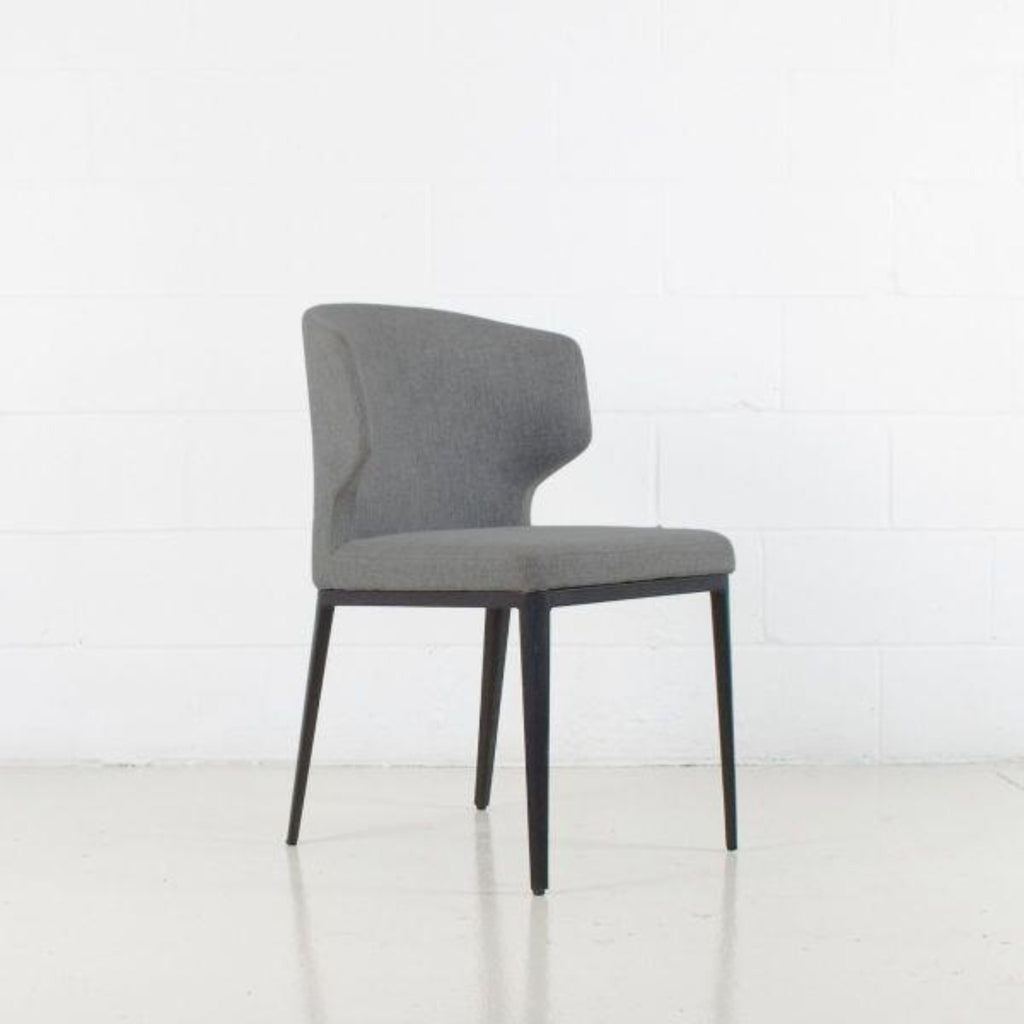 Marlow Dining Chair, Metal Base