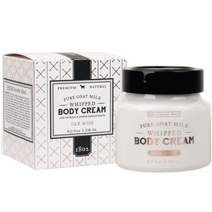 Beekman Whipped Body Cream, Oak Moss