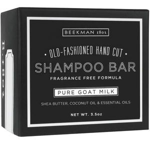 Beekman Shampoo Bar, Pure Goat Milk