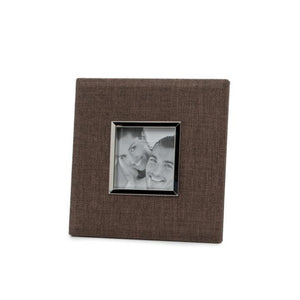 Brown Linen Frame