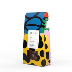 Coco Chocolatier Salted Caramel Fudge Milk Chocolate