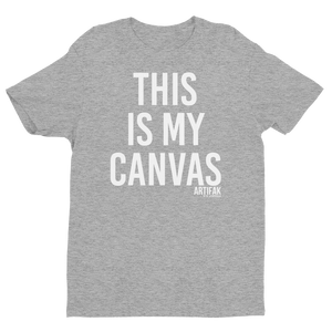 This Is My Canvas T-shirt