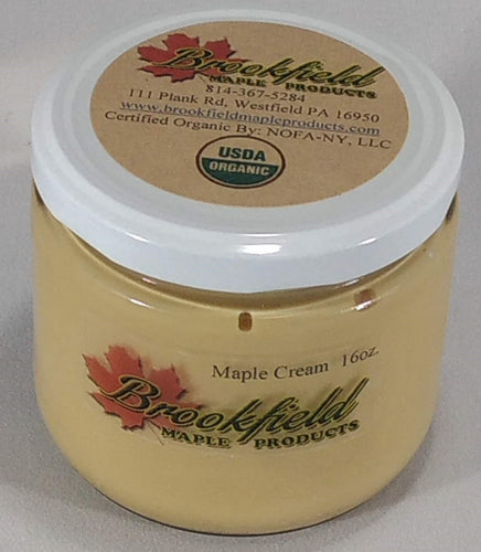 Maple Cream (Choose Size)