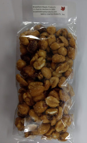 Maple Coated Peanuts (Choose Size)