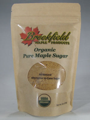 Organic Maple Sugar Bags (Choose Size)