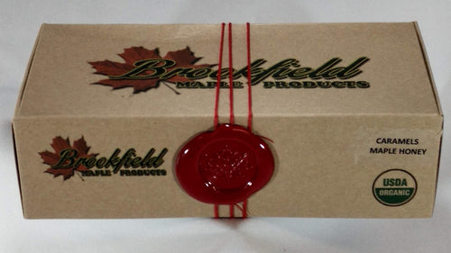 Wholesale Boxed Maple Honey Caramels (12 boxes)