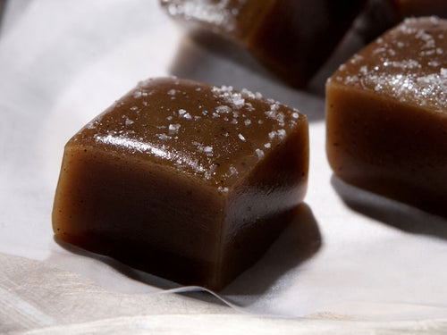 Maple Honey Caramels Singles (Choose Size)