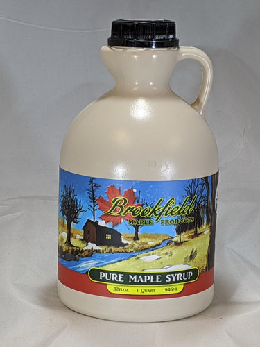 Natural Organic Maple Syrup (Quart Jug)