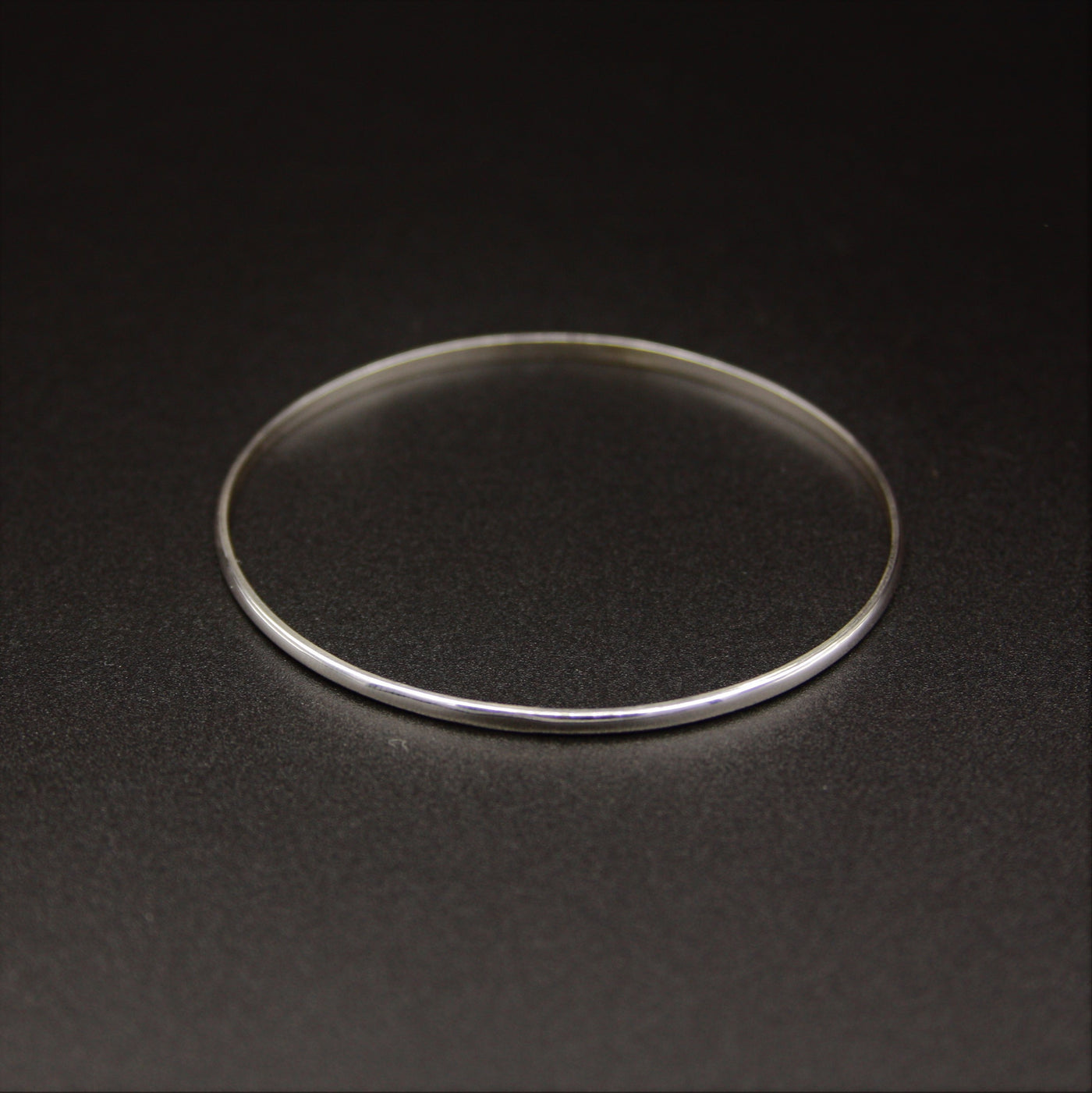 Sterling Silver Thin Bangle Bracelet