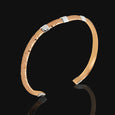 Copper Square Accent Cuff Bracelet