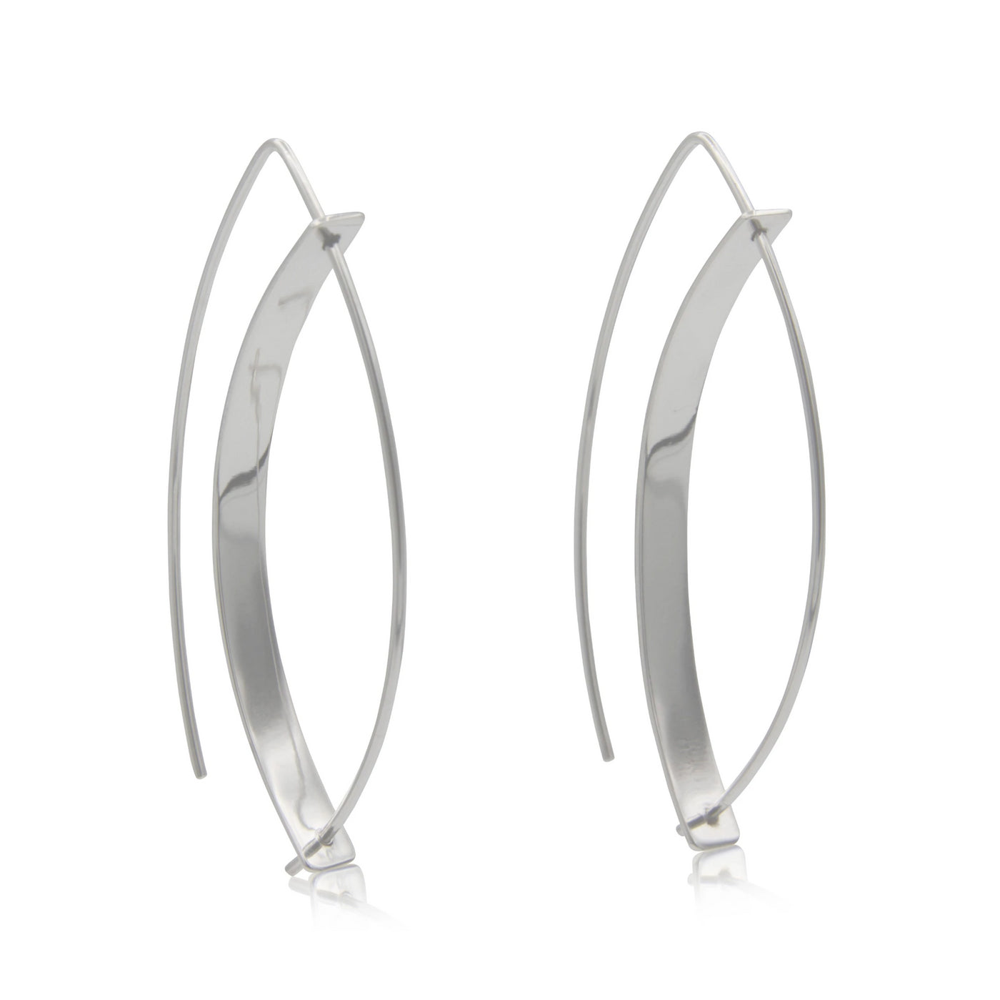 Sterling Silver French Wire Earrings