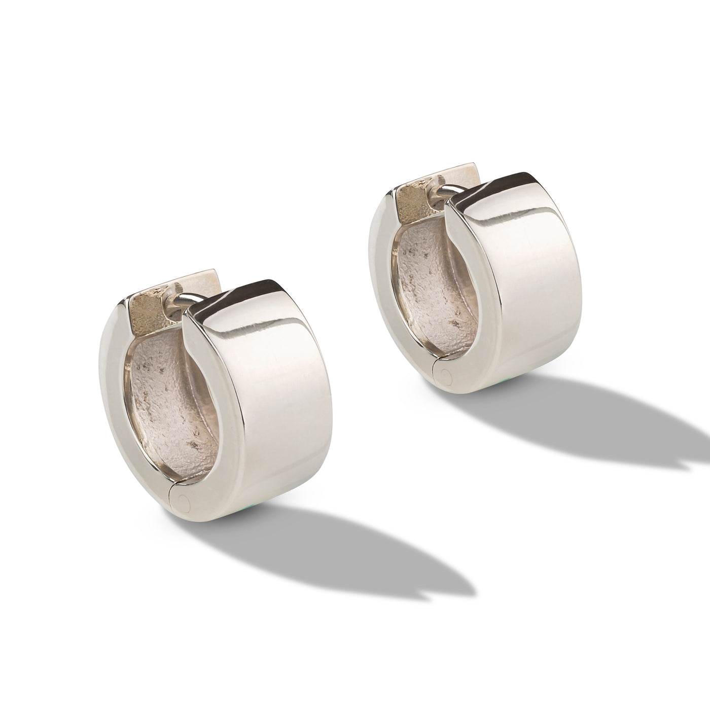 Thick Huggie Hoop Earrings