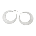 Sterling Silver High Polished Large Hoop Earrings