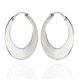 Sterling Silver High Polished Small Hoop Earrings