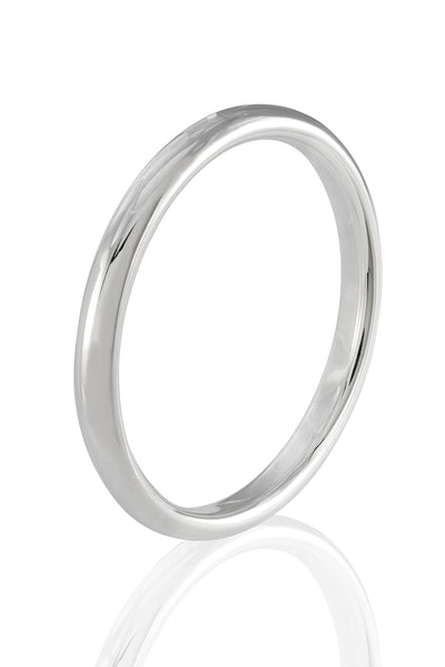 Sterling Silver Solid Bangle Bracelet