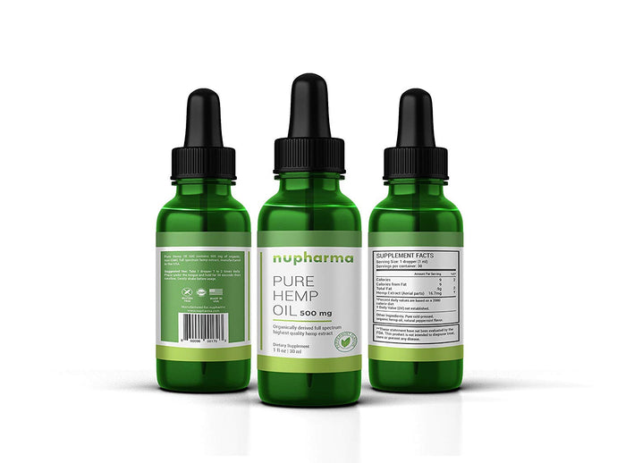 Pure Hemp Oil 500