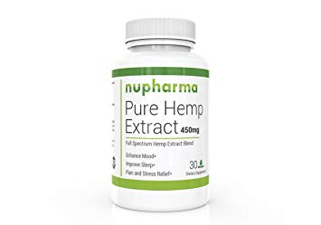 Pure Hemp Extract 450mg- 30 ct