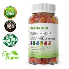 Load image into Gallery viewer, Pure Hemp Gummies - 15mg per Gummy