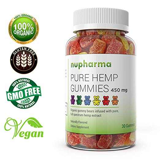 Pure Hemp Gummies - 15mg per Gummy