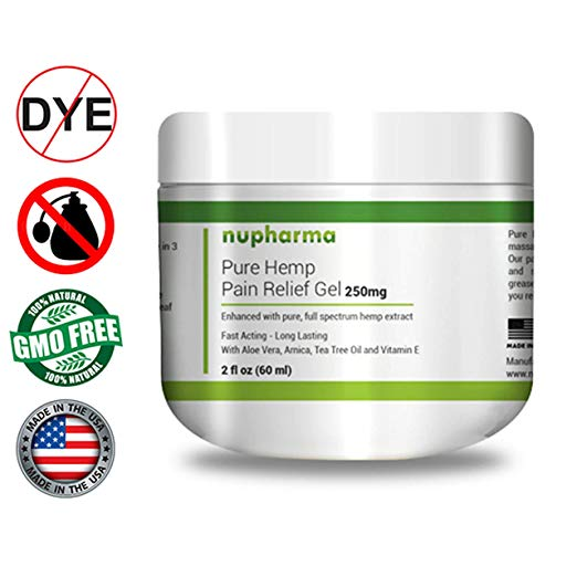 Pure Hemp Pain Relief Gel 250mg