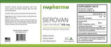 Load image into Gallery viewer, Serovan - 300 mg of Full Spectrum Hemp Extract 60 Count