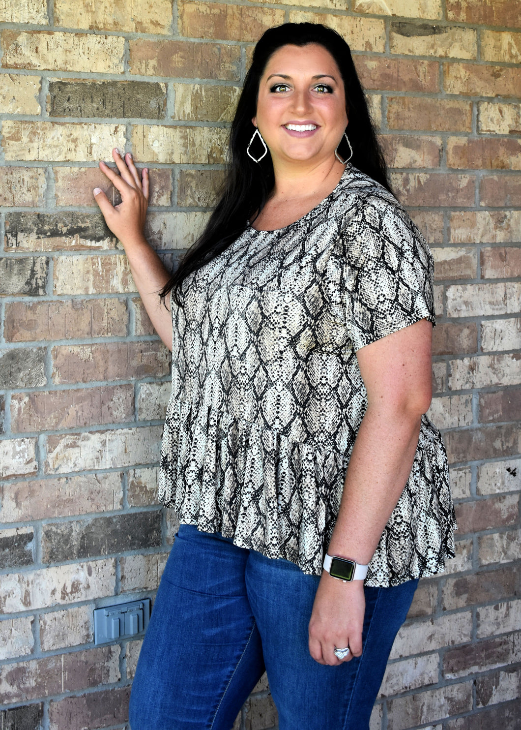 Pocketed Peplum (curvy)
