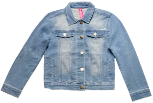 Girl's Light Blue Denim Jacket