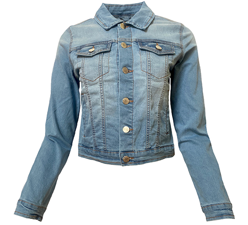 Light Wash Women's Denim Jacket